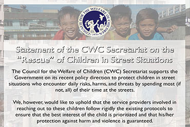 Statement of the CWC Secretariat on the